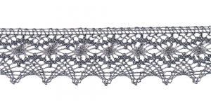 Metallikniidist pits laiusega 4,5 cm, KN-0891, värv hall (metallik), 1004