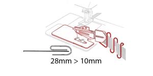 3-fold Binder 28 mm --> 10 mm, KL0436 PRO+