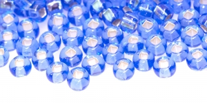 Czech Rocaille (Seed), Beads, 2/0 (5.8-6.3 mm), Preciosa, Color: HO87