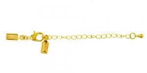 Kinnitushaak ketiga Kuldne, 13 mm x 6 mm x 4cm, EE43A