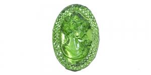 PL21 30x20mm Roheline läbipaistev