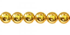 Kuldkollane ümar plasthelmes, BJ3 14mm