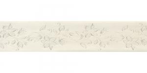 Jacquard satin ribbon, Art.38968, color No.Ecru