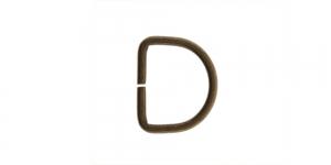 Antiikpronksjas, metallist poolkaarekujuline D kinnitus, SHD68