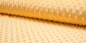 Pehme mummuline fliis Minky Art. KC4008-031, värv kollane