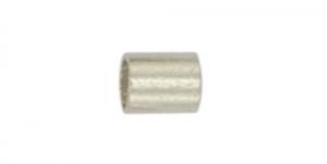Hõbetatud pärlipidur,helmes, 2,5mm, JFCT4S-1Z