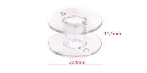 Plastic Bobbin for Home Sewing Machines