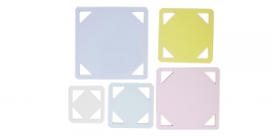 Clear View Square Templates set, YFC , RN-5540