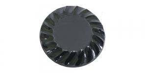 WJ1 35mm Must läbipaistmatu dekoratiivkivi