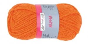 Villasisaldusega lõng, 34, oranž