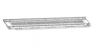 Kudumismasina nõelaplaat KH-860