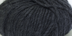 Souflé Twist Wool Yarn; Colour 22 (Dark Grey), Austermann