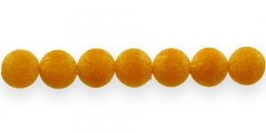 CD25 12mm Oranžikaskollane samethelmes