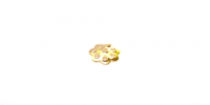 Ehtekübar Kuldne / 6mm / EH35