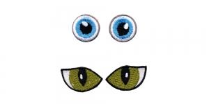 SS42 3 cm ja 2 cm Sinised ja rohelised silmad, 2 paari