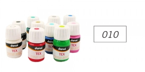 *Darwi kangavärv TEX 30 ml WHITE 010