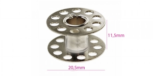 Metal Bobbin for Home Sewing Machines, common type