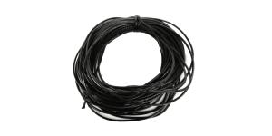 RC5 2,5mm Must vahatatud nöör