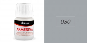 Portselanivärv Darwi Armerina, 30ml, SILVER 080