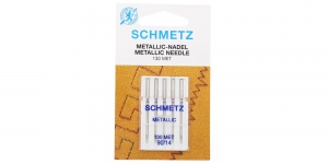 Metallikniidi nõel koduõmblusmasinatele, Schmetz Metafil Nr.90 (14)