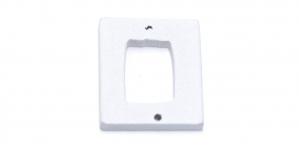 IO126 30x25x2mm Kandiline valge puitdetail