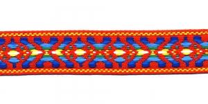 Rahvusliku ornamendiga/ Lace 3cm; Punasekirju 9453000