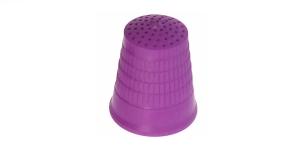 Plastikust sõrmkübar, Nr.18 mm (#12), Pony 98216/10