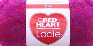 Siidjalt pehme akrüüllõng Lacie, Red Heart, värv nr. 2, fuksiaroosa