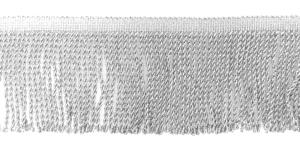 Metalliknarmad pikkusega 10 cm / Metalic-100 / Värv 33, hõbedane