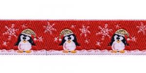 Jõulupael pingviinidega laiusega 30mm, värv 3, PG 201B