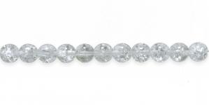 Pyöreä lasihelmi - Tsekki, Jablonex, 8mm, LN343B