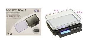 Juveliiri kaal, elektrooniline täpne lauakaal max.200 g, täpsus +/- 0,01g, TV2A, 6931705500097