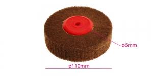 Abrasiivkiududest poleerimisketas, ketta kujuga (Wheel) ø110 mm x 30 mm, KL0936
