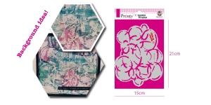 Šabloon, trafarett värvimiseks 15 cm x 21 cm, Pronty 470.770.004