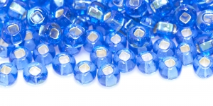 Czech Rocaille (Seed), Beads, 2/0 (5.8-6.3 mm), Preciosa, Color: HO154