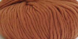 Souflé Twist Wool Yarn; Colour 12 (Brown-Orange), Austermann