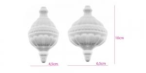 Penoplastist e. stüroksist jõuluehe 6,5 x 4,5 x 10cm, KL1397