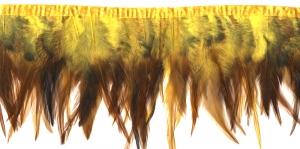 QC3 Pruunikas, kollakas sulepael, 10cm ca 23-27tk