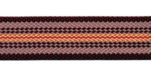 Kotirihma pael laiusega 5 cm Värv - Must, helehall, #1