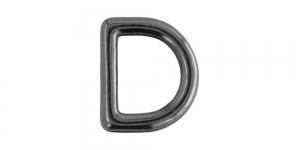 24 mm x 20 mm Hematiit, D- aas SHD137/IR810
