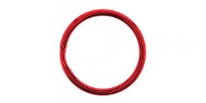 Kõrgläikega värvilised topelt metallrõngas, võtmerõngas ø30 mm, SHV29, KL0889, Punane
