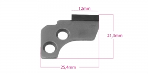 Overlock, serger Lower Knife for Janome, #788 013 009