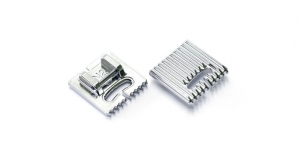 9-groove Pintuck Foot (N1) for 9 mm max. Stitch Width Janome and Elna models, #202094003