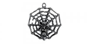 32x10mm Kõrgläikega oksüdeeritud nikkel, tilgakujuline metallist riputis EG183