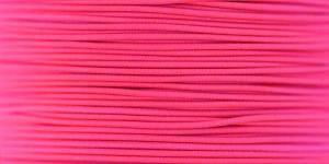 Elastic Cord Ø 1,2 mm / Colour no. 1410, Neon Pink