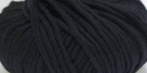 Souflé Twist Wool Yarn; Colour 2 (Black), Austermann