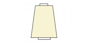 Overlokiniit, 5000m/y, värv: vanilje-heleklollane H120607