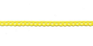 Puuvillane pits 3840-13 laiusega 1 cm, värv kollane