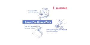 Bonus pack for cover stitch machines Janome and Elna 796401003