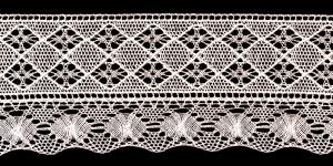 Puuvillane servapits laiusega 12cm Art.T080-58, värv helebeež